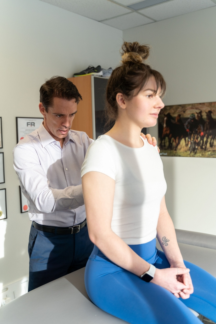 Dr. Dale Macdonald chiropractic treatment
